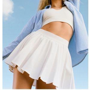 Garage Tessa Tennis Skirt White XS